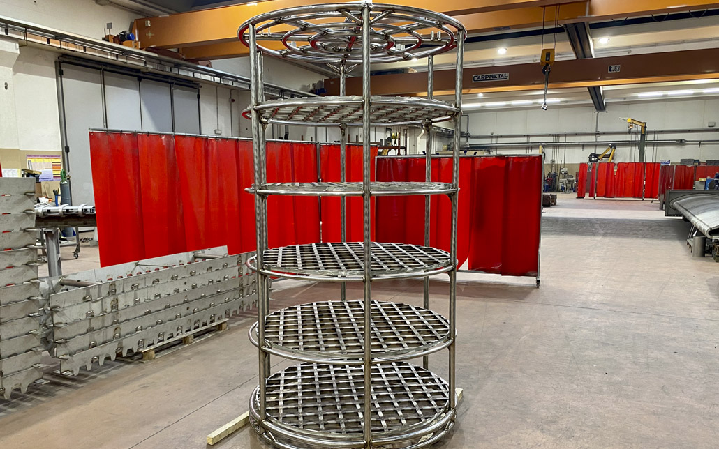 Nicro Heat Treatment Basket 2