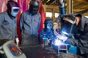 NICRO INVESTS IN THE TRAINING OF SPECIALIZED WELDERS